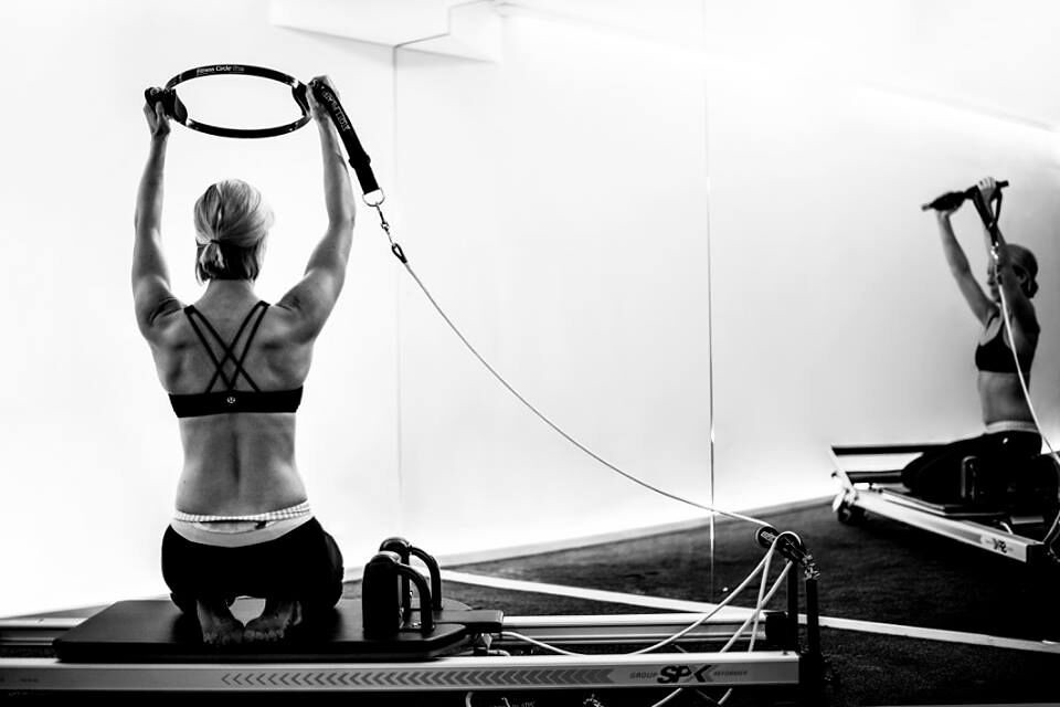 Get Free Credit Report >> Reformer Pilates Photography - Fit Circle Exercise Monochr ...
