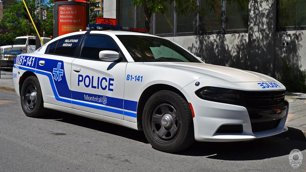Spvm Montreal Police Quebec 2016 Dodge Charger Flickr