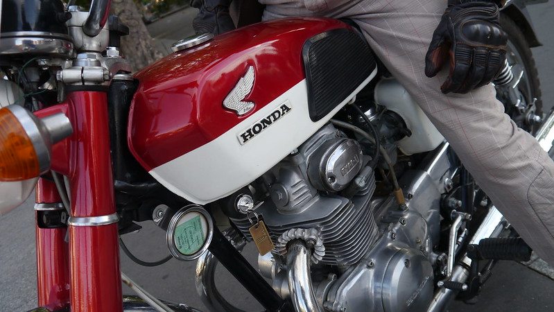 Honda 350 1971 - Paris Bastille Juillet 2017 35481965084_9012441102_c