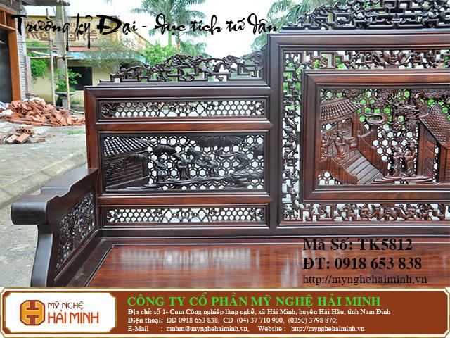 TK5812i  Bo Truong Ky tich Tu Dan  do go mynghehaiminh