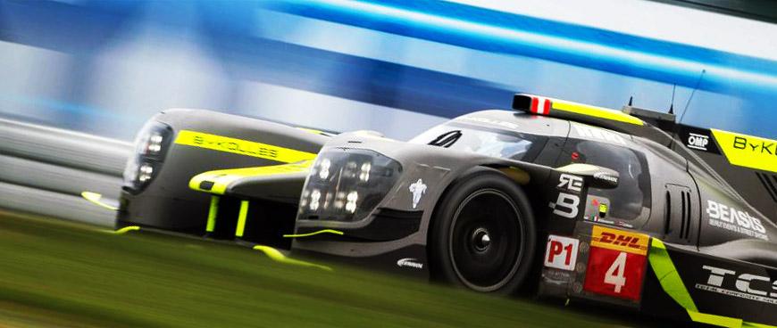 KENNOL testing with LMP1 elite on the famed Nurburgring track.