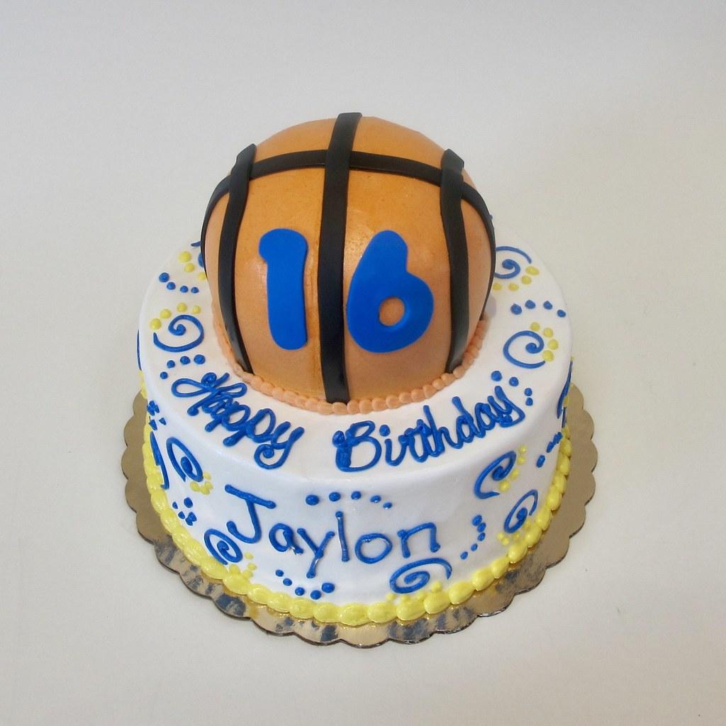 Bouncin In To 16 Basketball Birthday Cake 300420 Creative Cakes