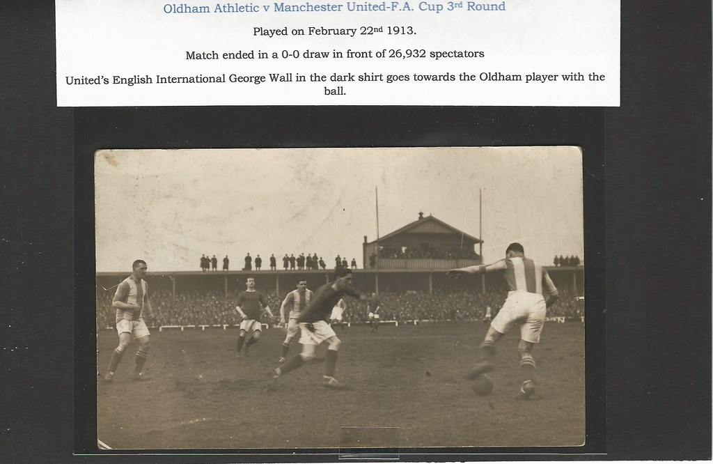 Oldham Athletic V Manchester United 3rd Round English Cup