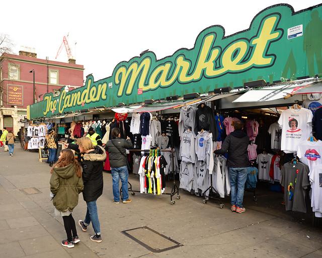 Camden Market, en Londres