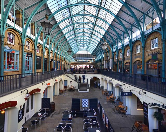 Covent Garden, un clásico que ver en Londres