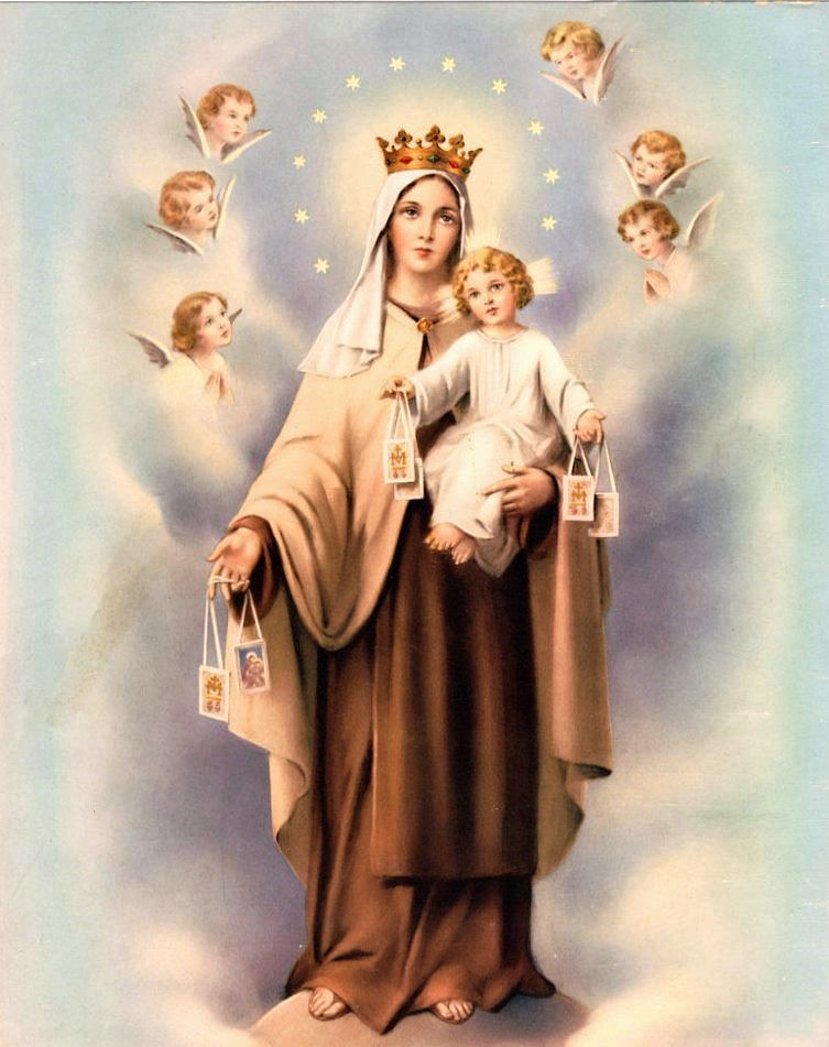 Image result for our lady of mt. carmel