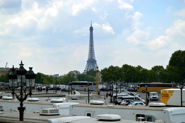 Eiffel Tower from the Champs-Elysees