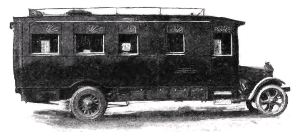 My Three Years of Motor Camping Experiences of a Pioneer in the Game, Who Reveals the Most Useful Equipment for a Successful Motor Vacation -- Pullman car conveniences are included in this motorized home