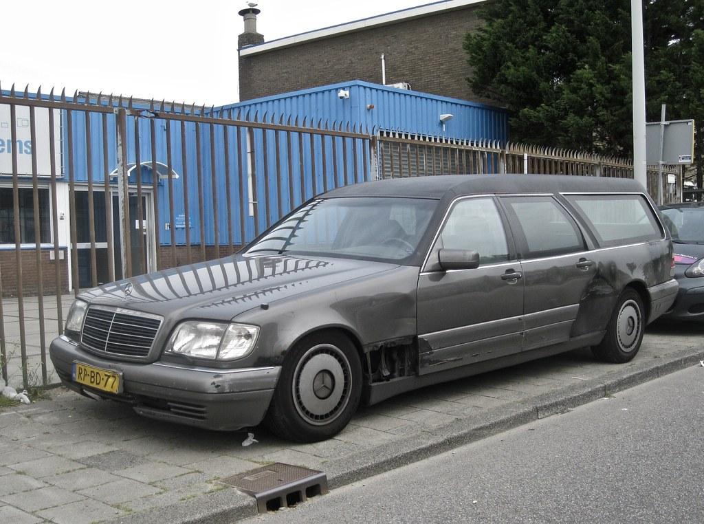 1997 mercedes benz w140 s 280 huiskamp hearse the w140 for Mercedes benz w140