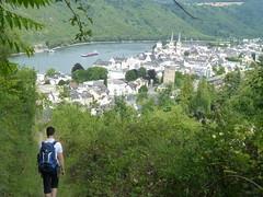 Abstieg nach Boppard