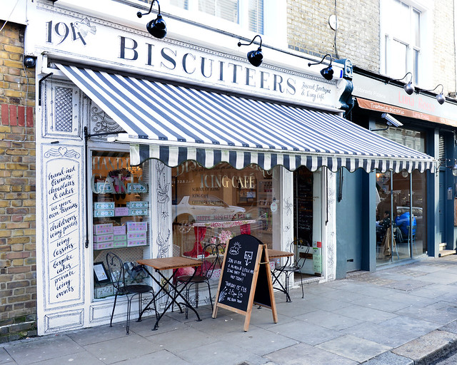 Biscuiteers, la mejor tienda de galletas de Londres