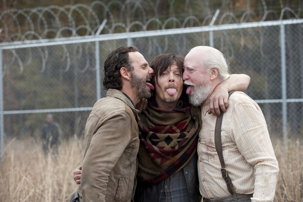 Image result for scott wilson and rick grimes
