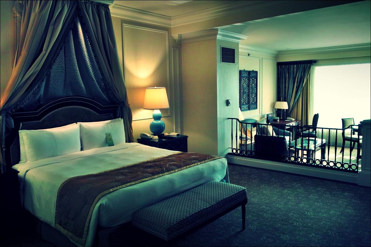 침대-'베네치안 마카오 리조트(The Venetian Macao Resort Hotel, Cotai, Macau)'