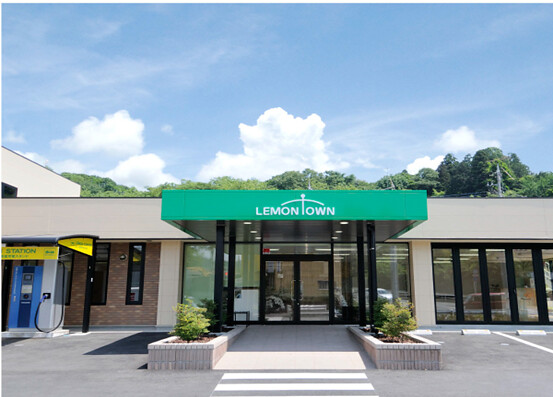 檸檬瓦斯的八王子分店,同時具有社區中心和節能教室的功能。圖片來源:檸檬瓦斯官網`.