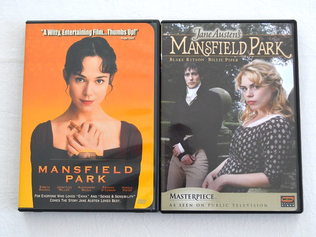 Jane Austen Rewatch Mansfield Park