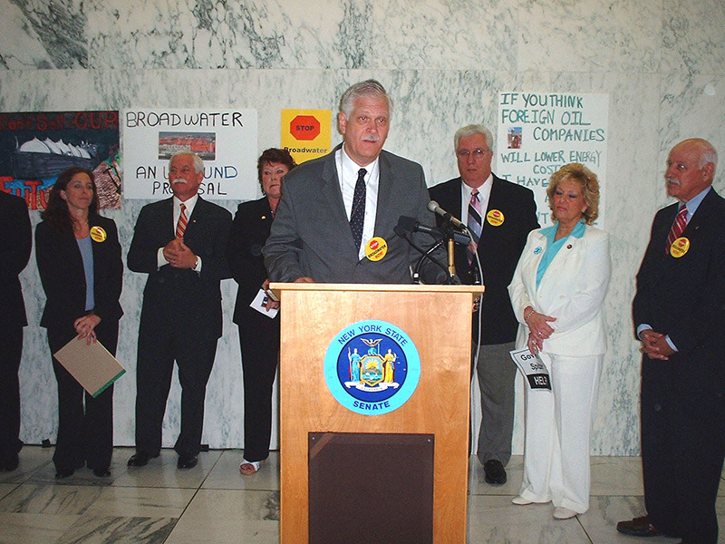 New York State Senate: Broadwater Energy Press Conference