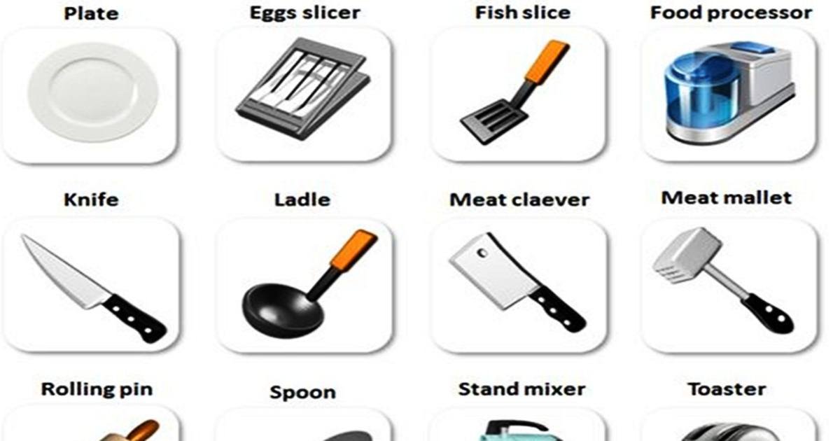 Vocabulary: In the Kitchen 5