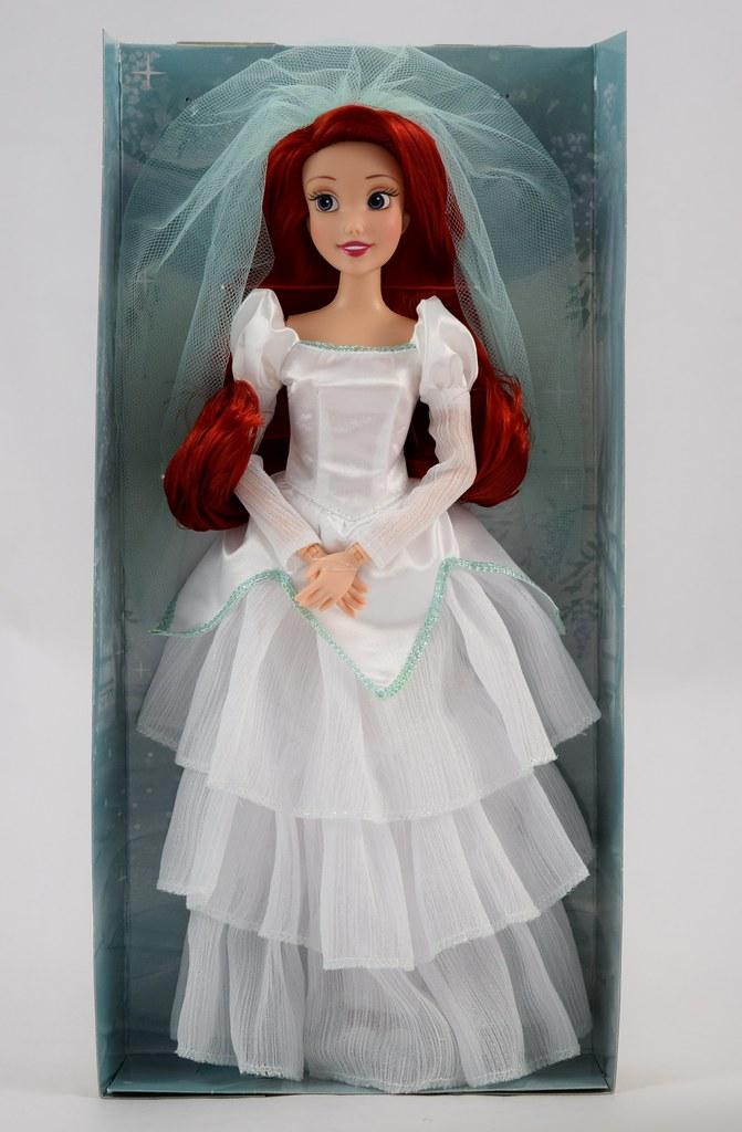 2017 Ariel Wedding Classic Doll - 11 1/2\'\' - Disney Store … | Flickr