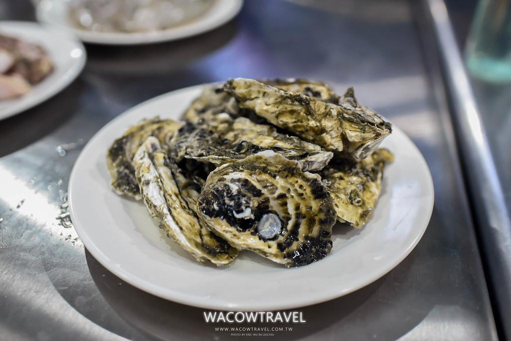 小琉球美食-筑安心燒物BBQ蚵仔照