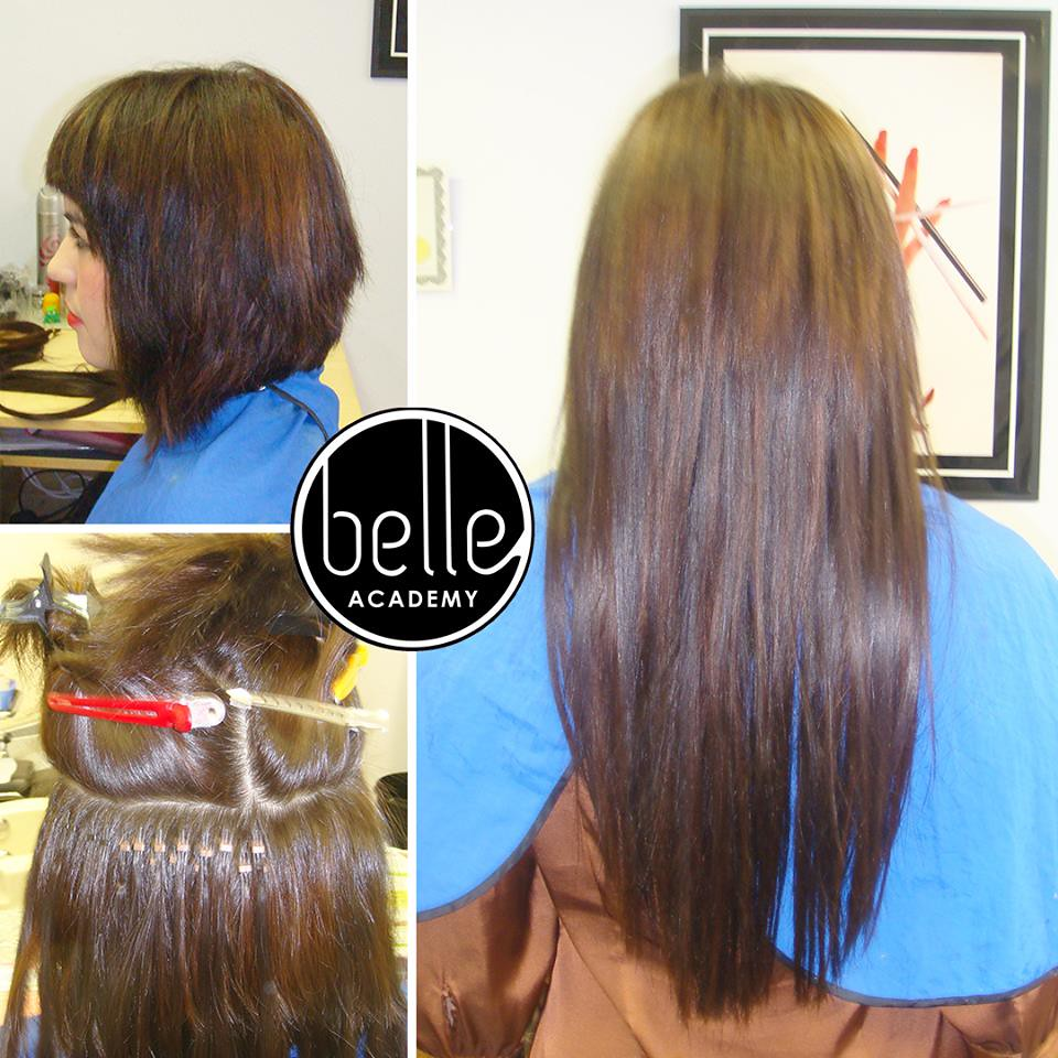 Hair Extension Training Belle Academy Centers Hairextens Flickr