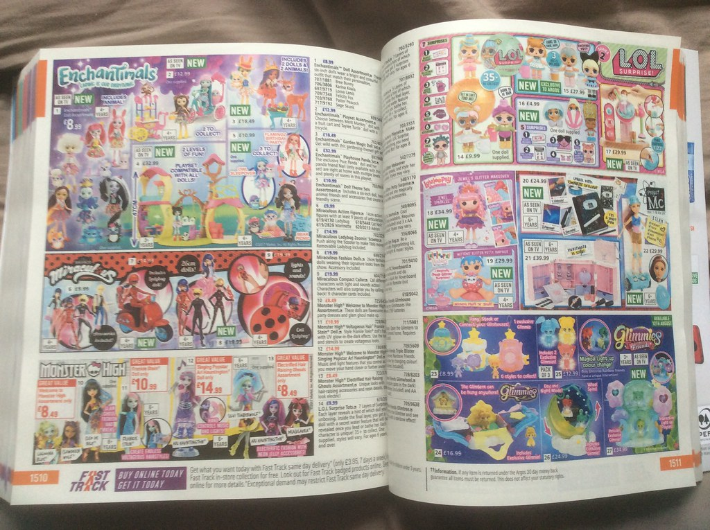 Argos Catalogue Autumn 2017 The Doll Section Here S