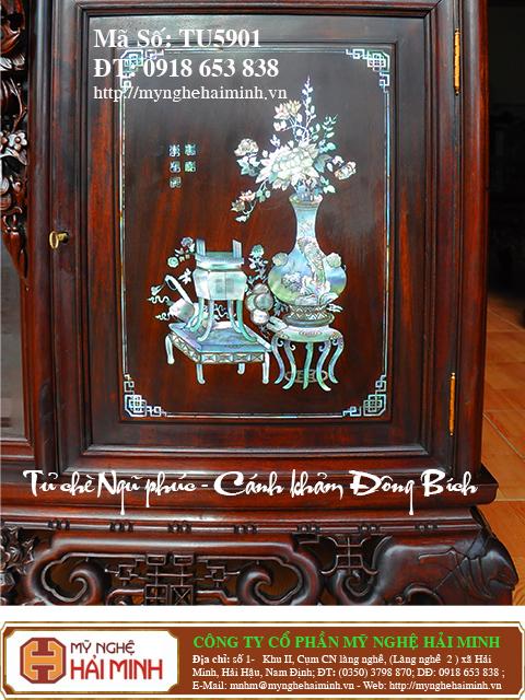 TU5901m  Tu che Ngu Phuc  Canh kham Dong Bich  do go mynghehaiminh