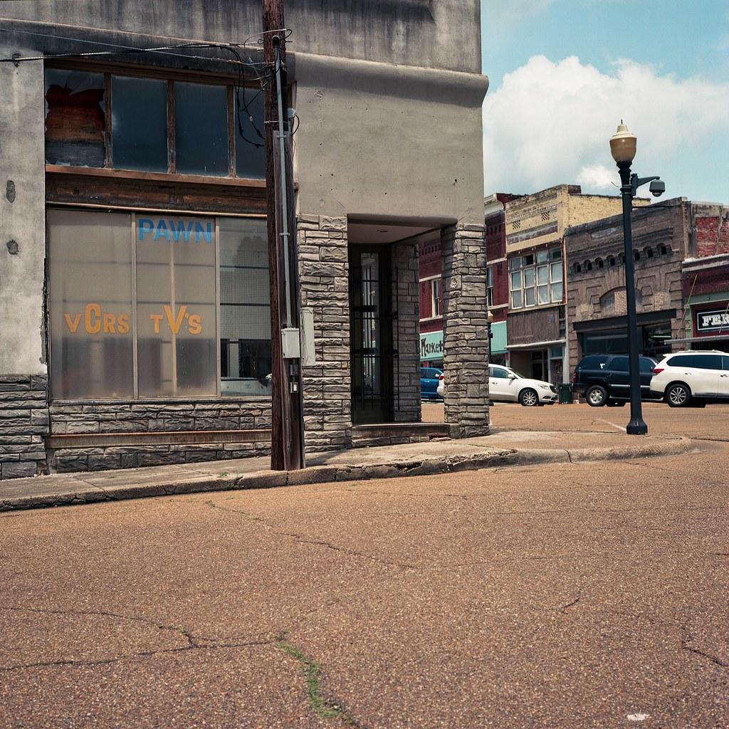 Yazoo City pawn shop (VCRs TV's) | by ADMurr