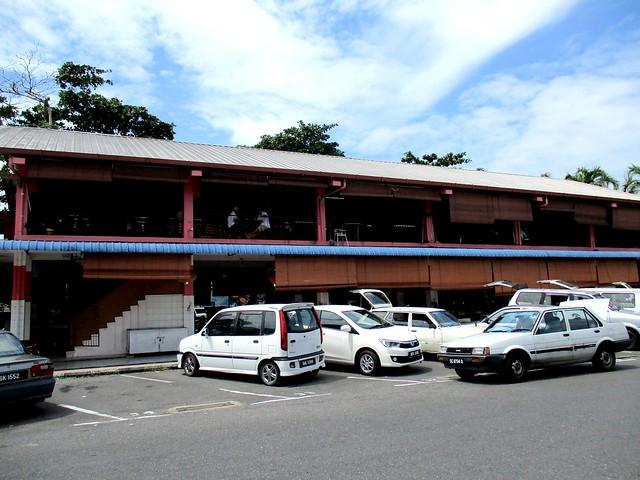 Rejang Park market