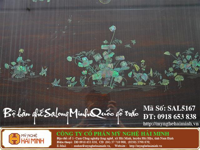 SAL5167k  Bo ban ghe Salong Minh Quoc go Trac  do go mynghehaiminh