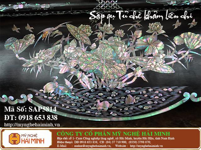 SAP5814e  Sap gu Tu che Kham Lien Chi  do go mynghehaiminh