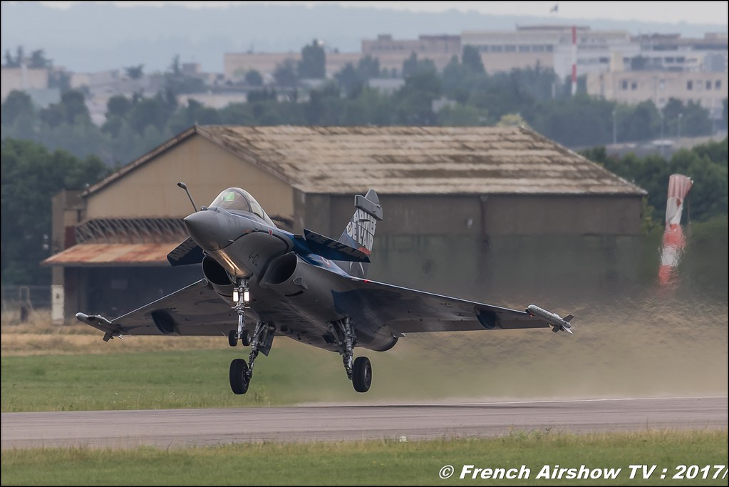 Rafale Solo Display , Meeting de France - Dijon Longvic 2017