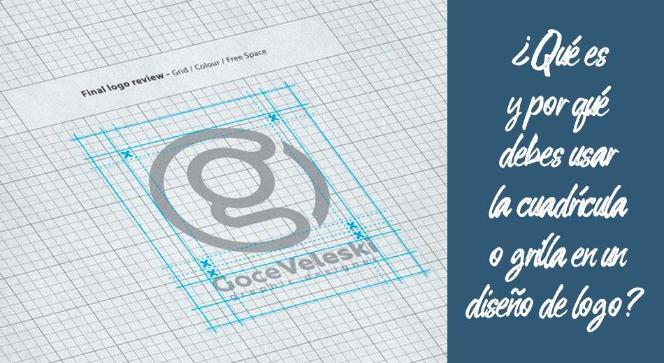 ¿Qué es y por qué debes usar la cuadrícula o grilla en un diseño de logo?