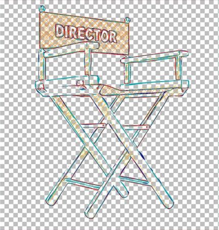 Transparent Vector Outline Action