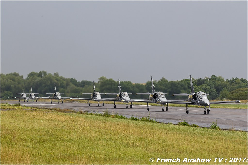 Patrouille Breitling Jet Team , Meeting de France 2017 , Dijon longvic , Bleuciel Airshow, meeting aerien dijon 2017 , Meeting aerien de France a Dijon