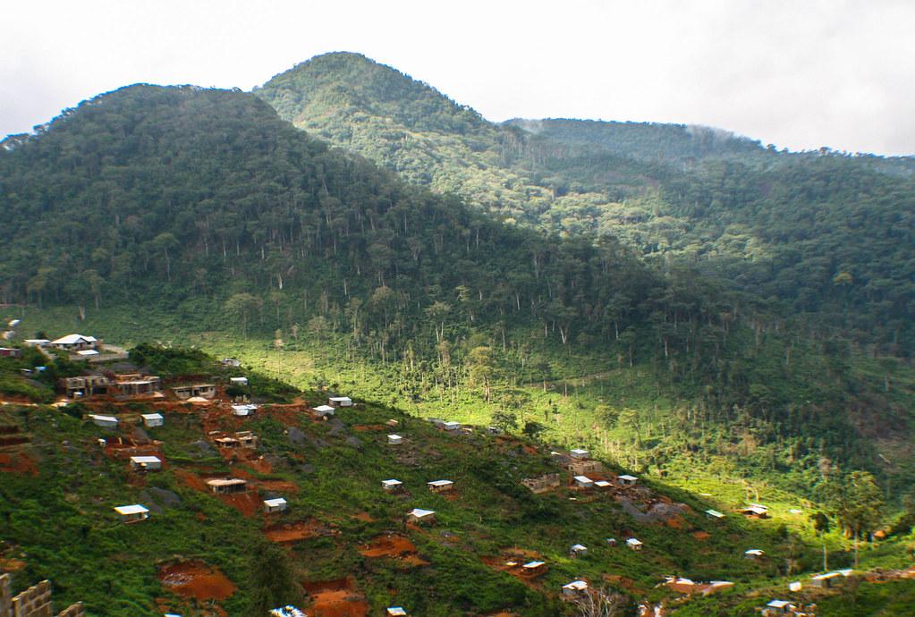 Image result for landscape of sierra leone