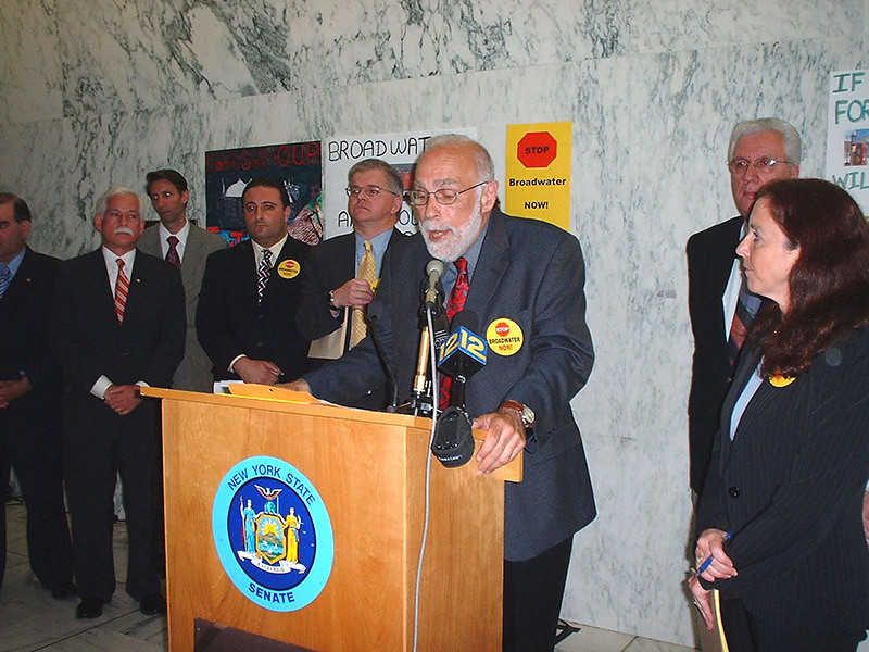 New York State Senate: Broadwater Press Conference