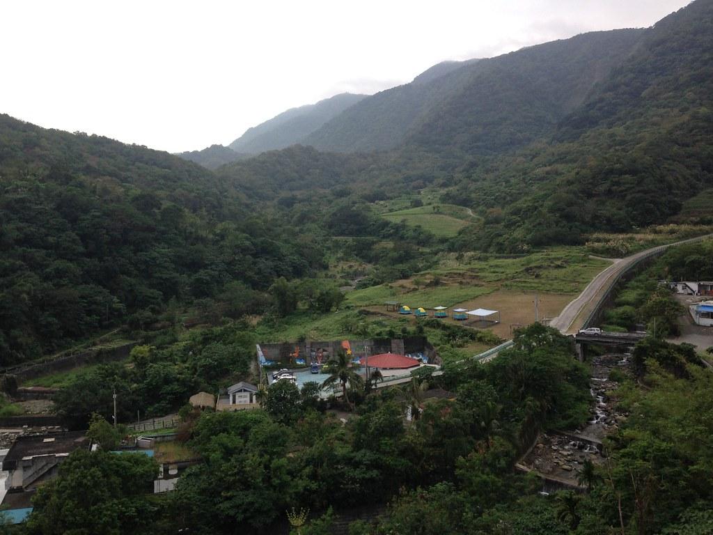 Dipit部落鳥瞰。攝影:廖靜蕙