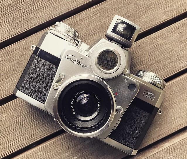 Contarex 21mm f4.5 終極Zeiss Biogon