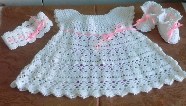 Simple And Very Delicate I Loved This Crochet Dress Flickr