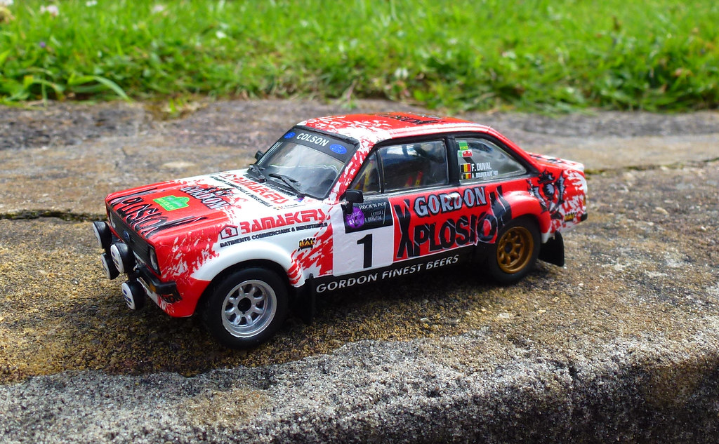 1/43 Ford Escort Mk2 rally | 1/43 Ford Escort Mk2 rally pain… | Flickr