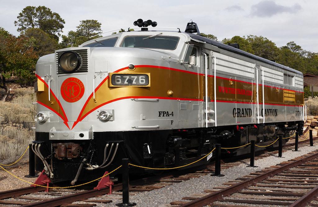 Grand Canyon Railway. Fleet no 6776.   The Grand Canyon Rail…   Flickr