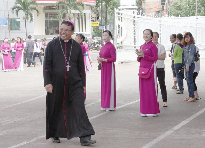Thánh lễ Khai mạc Kim Khánh Giáo phận Ban Mê Thuột tại Giáo hạt Chính Tòa