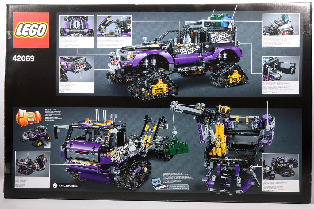 Lego Technic Extreme Adventure 42069 I Have Offical Link T Flickr