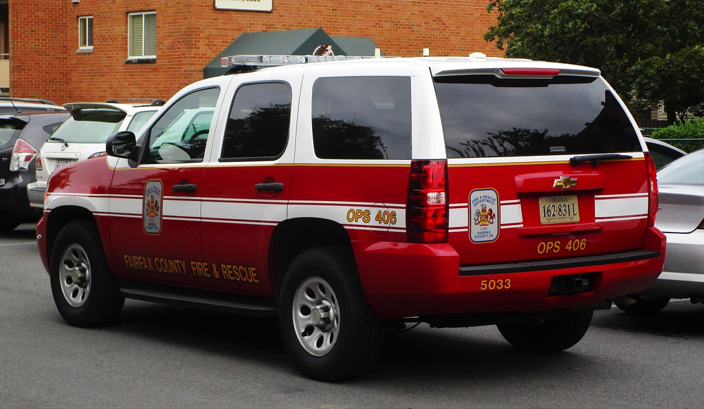 Fairfax County Fire & Rescue OPS 406 2011 Chevrolet Tahoe | Flickr