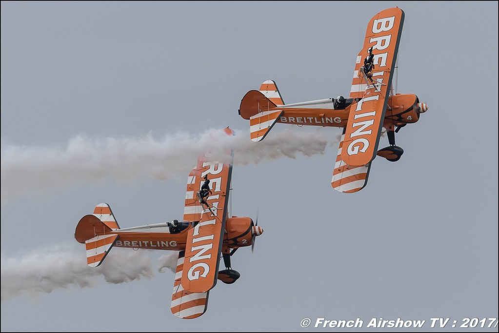 Breitling Wingwalkers , Meeting de France 2017 , Dijon longvic , Bleuciel Airshow, meeting aerien dijon 2017 , Meeting aerien de France a Dijon