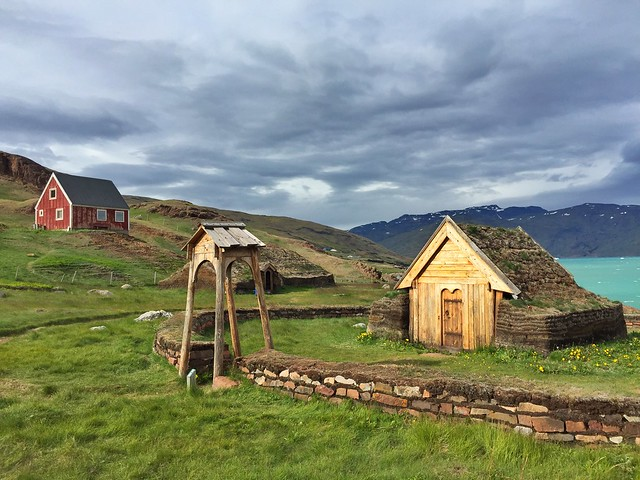 Iglesia vikinga de Qassiarsuk (Groenlandia)