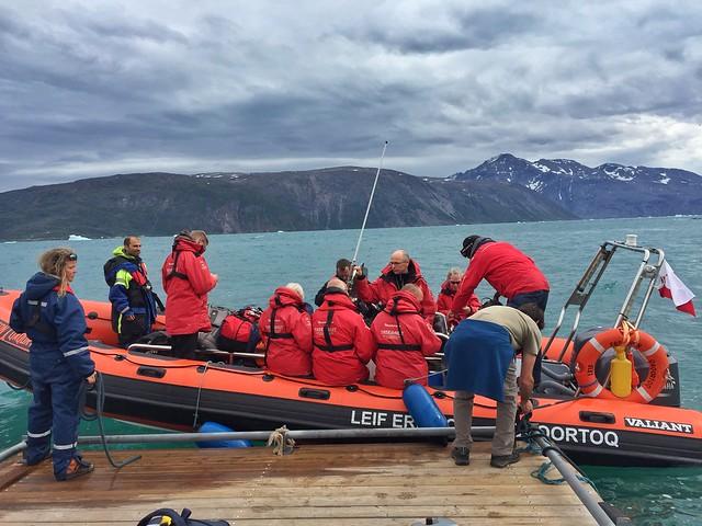 Zodiak de Tierras Polares en Groenlandia