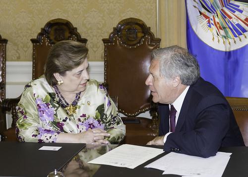 La OEA y PARLACEN reafirman compromiso con la protección de los migrantes