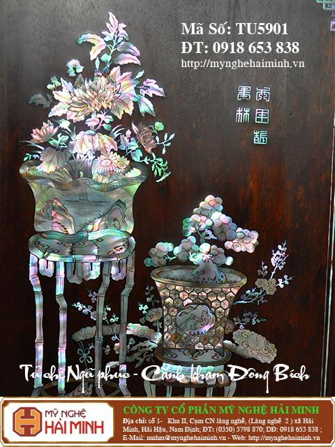 TU5901l  Tu che Ngu Phuc  Canh kham Dong Bich  do go mynghehaiminh