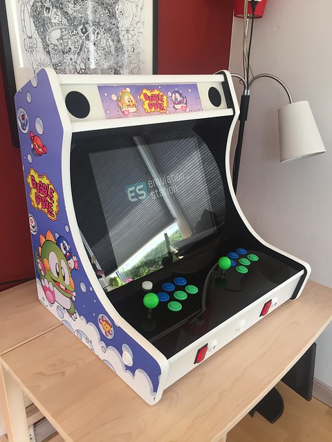 Bubble Bobble themed Bartop Arcade Build - RetroPie Forum